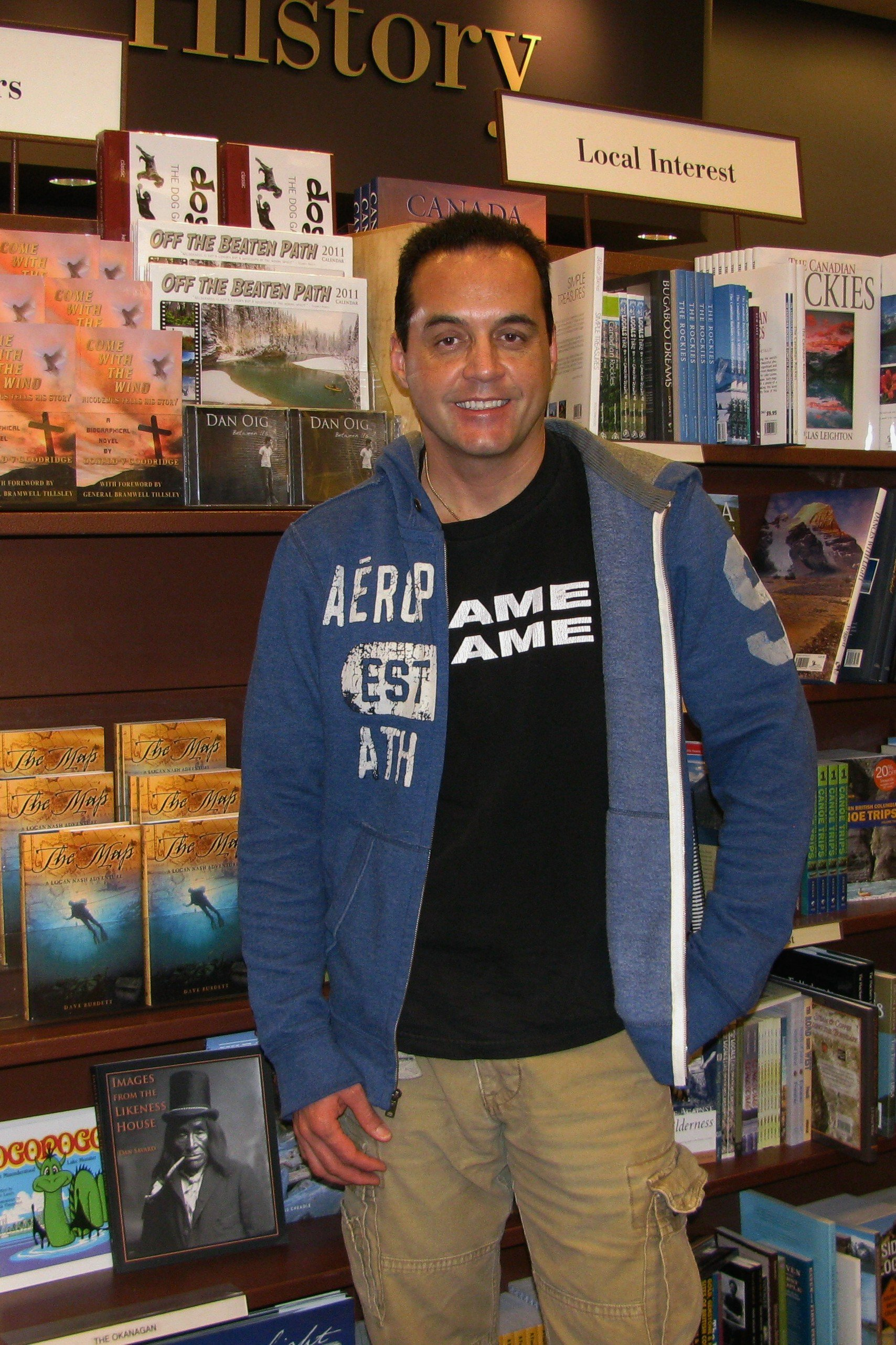 Dave Burdett, author of The Map, A Logan Nash Adventure, action/adventure novel series